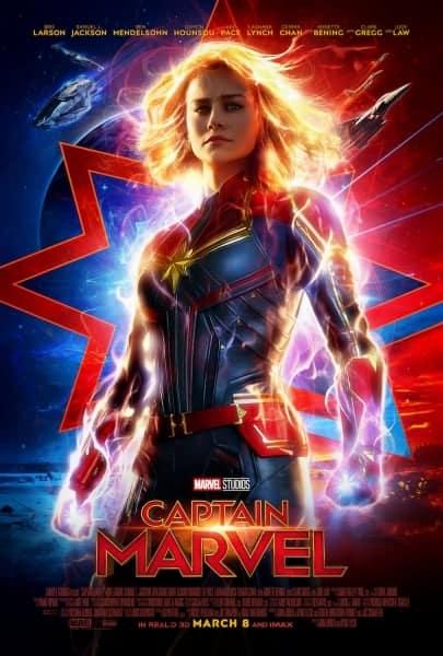 poster brie larson captain marvel